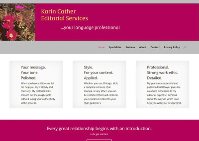 Karin Cather Editorial Services